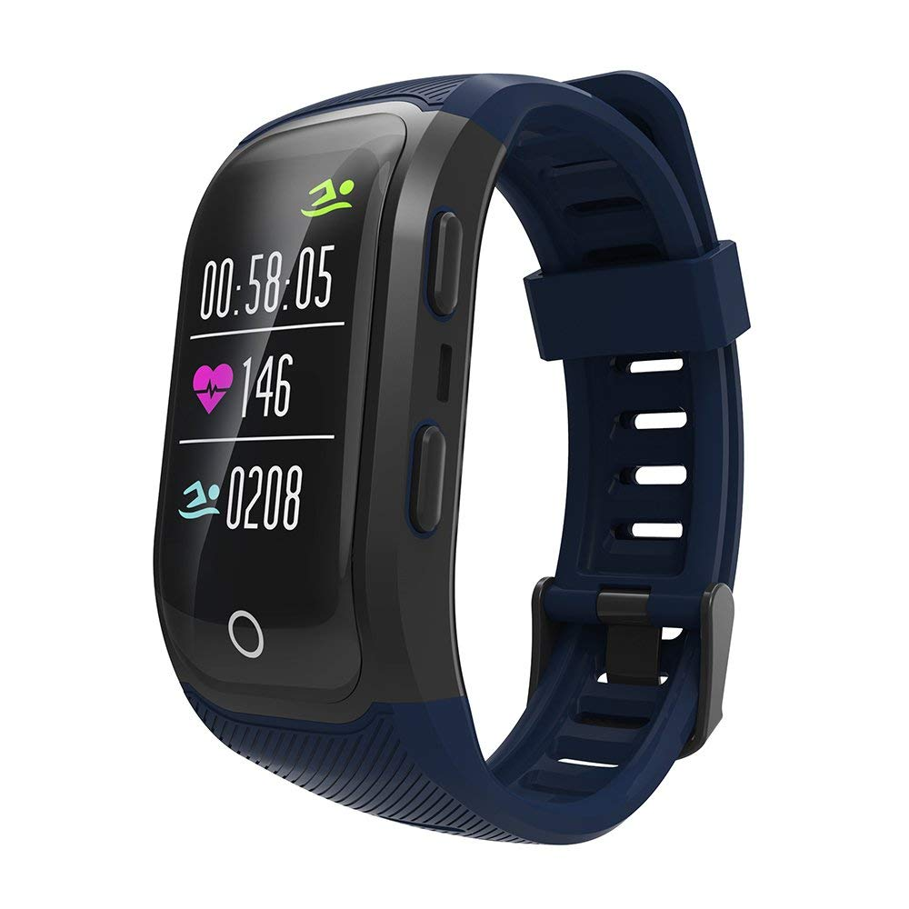 Waterproof Smart watch men women Color Screen Smart Wristband Activity Tracker Sport GPS Heart Rate Monitor