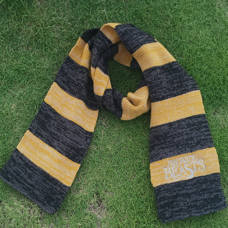 Fantastic Beasts and Where to Find Them Scarf Cosplay Newt Scamander Scarf costume cosplay