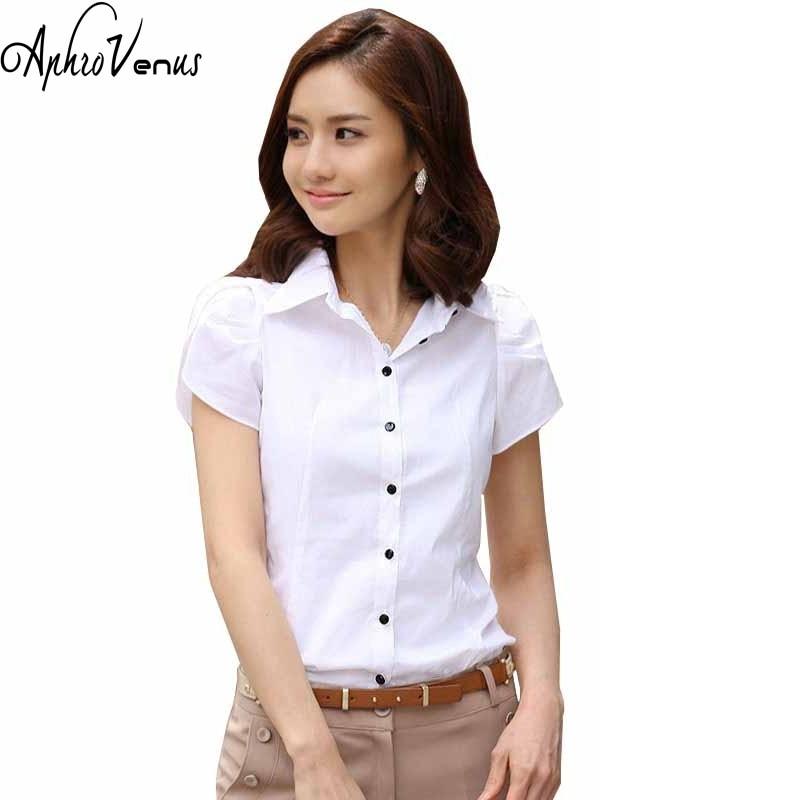 High quality fashion womens short sleeve chiffon shirt for Short sleeve shirt for women