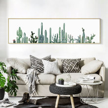 Plant Desert Cactus Wall Art Canvas Painting Nordic Decoration Posters And Prints Wall Pictures For Living Room No Poster Frame(China)