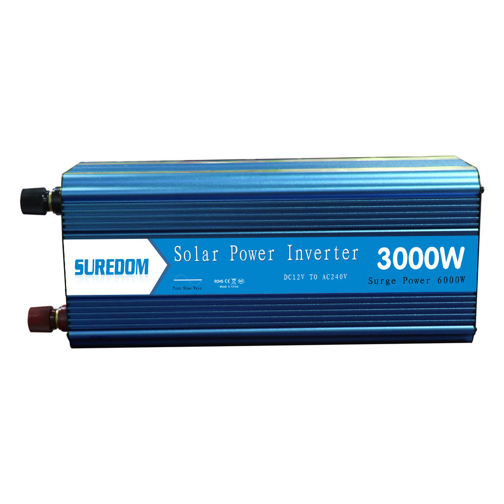 3000W Pure Sinusoidal Inverter Solar Inverter Multifunctional Travel Power Supply Control Car power inverter 2 universal