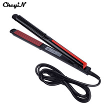Electric Hair Straightener Hair Iron Corn Plate Electronic Temperature Control  Hair Straighteners Tools Corrugated Iron Styling