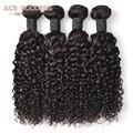 Water Wave Malaysian Virgin Hair 4 Bundles, Perruque Cheveux Bresilien Cheveux Humain Iwish Pelo Plumas 4 Bundle Ofertas ACE pelo
