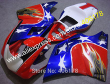 Hot Sales,Sportbike Body Kits For Ducati Parts 996 748 998 1996/1997/1998/1999/2000/2001/2002 Stars Fairing (Injection molding)