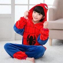 Kids Cartoon Pajamas Children Animal Sleepwear Robe Boys Girls Funny Blanket Sleepers Baby Flannel Onesies Pyjamas 3-12 Years