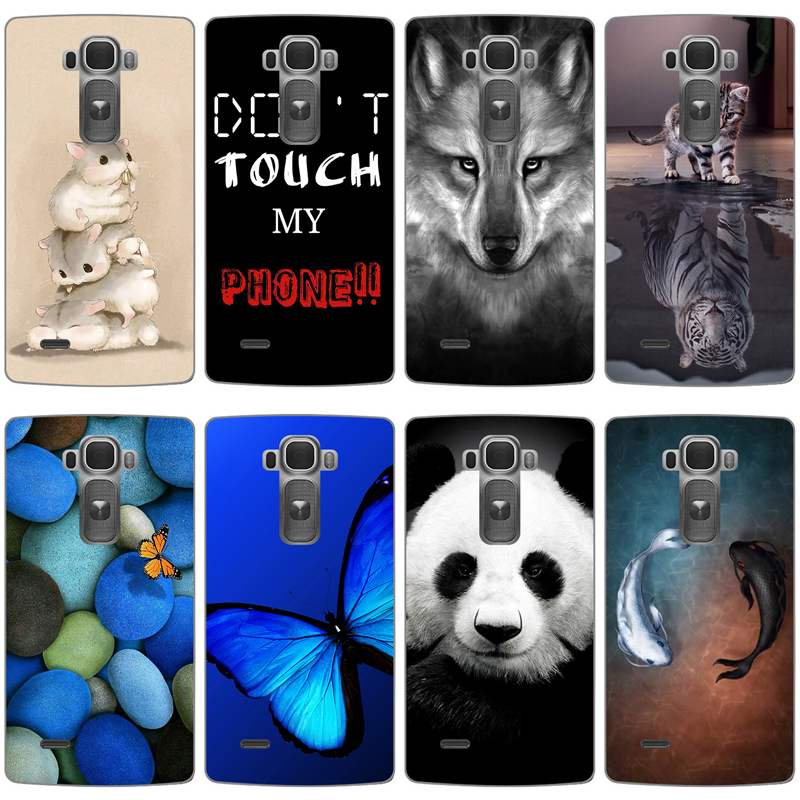 Cat Dog flower animals design paint Phone Case For LG G Flex 2 H955 LS996 H950 Flex2 Hard Back Cover Cases mobile phone bag