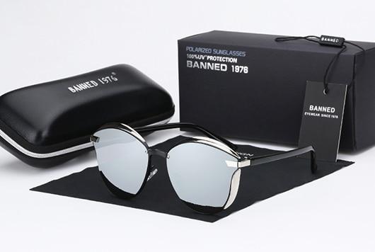 BANNED 1976 Luxury Women Sunglasses Fashion Round Ladies Vintage Retro Brand Designer Oversized Female Sun Glasses oculos gafas 9