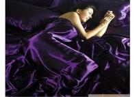 PROMOTION New arrival! Imitation silk bedding set.bed linen bedclothes.bedspread/bed sheet /duvet cover SILK FEELING TSX