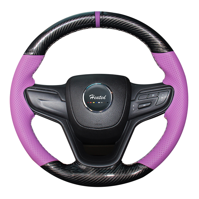 Microfiber leather + synthetic fiber Car wheel steering cover for Buick Excelle 2015 car styling braid on the steering wheel