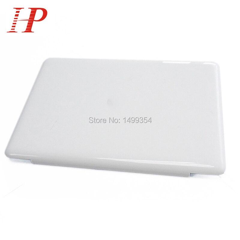 Geunine 2009 2010 Jaar 604-1033 Wit A1342 Lcd-scherm Cover voor apple macbook unibody 13 ''a1342 top screen case mc207 MC516