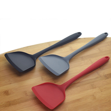 Silicone Spatula Beef Meat Egg Kitchen Scraper Wide Pizza Shovel Non-stick Turners Food Lifters Home Cooking Utensils