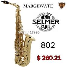 FAST SHIPPING Senior France Brand Henri Selmer Paris Alto Saxophone 802 e Musical Instrument  Alto Sax Saxfone Electrophoresis