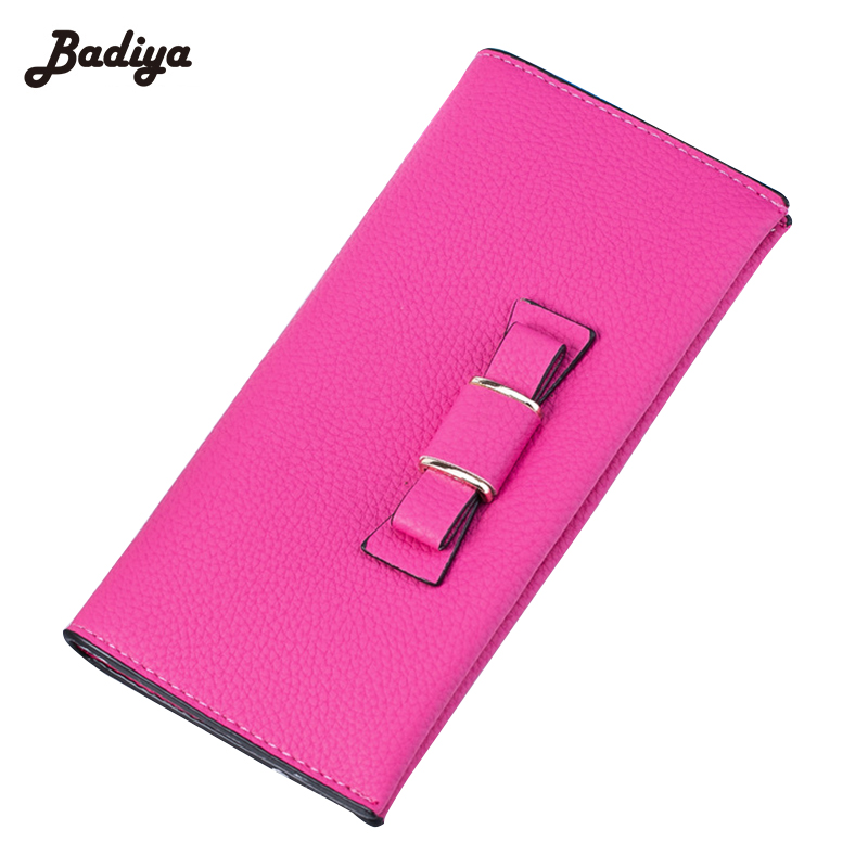 Fashion Women Wallets Leather Long Wallet Women Card Holders Casual Ladies Purse Clutch Female Purses Bag Famous Brand Hot Sale ougold women wallet famous brand fashion smooth pu leather female thin hasp wallets red credit card holders
