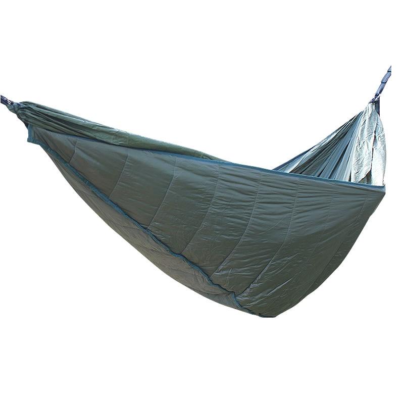 Ultralight Outdoor Camping Hunting Portable Parachute Hamaca Sleeping Bag Hammock Underquilt For Hammock