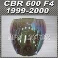 Motorcycle Magic color  Windshield/Windscreen - iridium For Honda CBR 600 F4 1999 2000 99 00