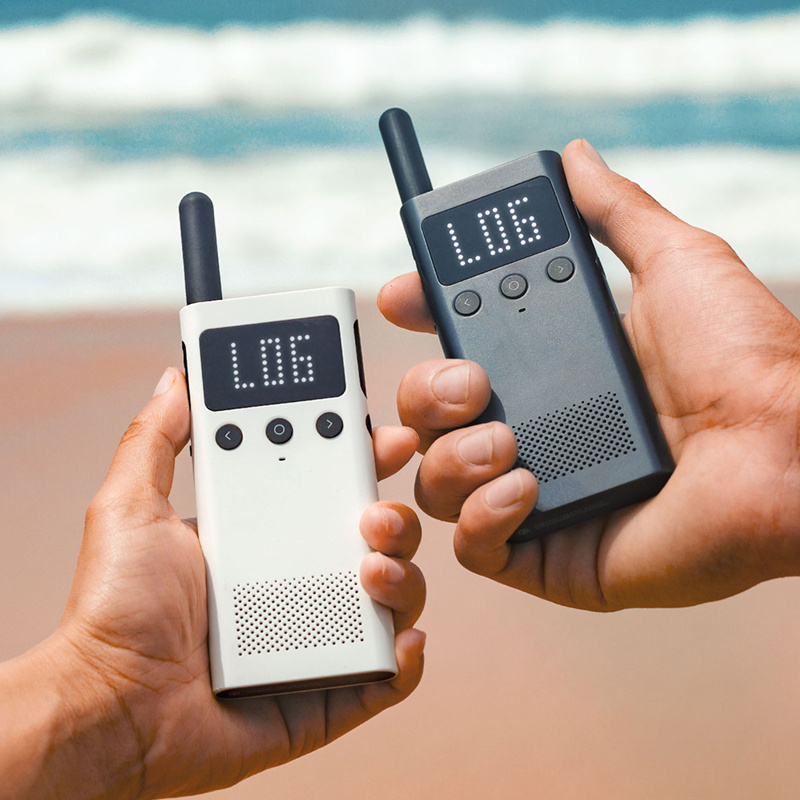 Talkie-walkie intelligent d'origine Xiaomi Mijia avec haut-parleur Radio FM en veille emplacement de l'application de téléphone intelligent partager une équipe rapide parler nouveau - 6