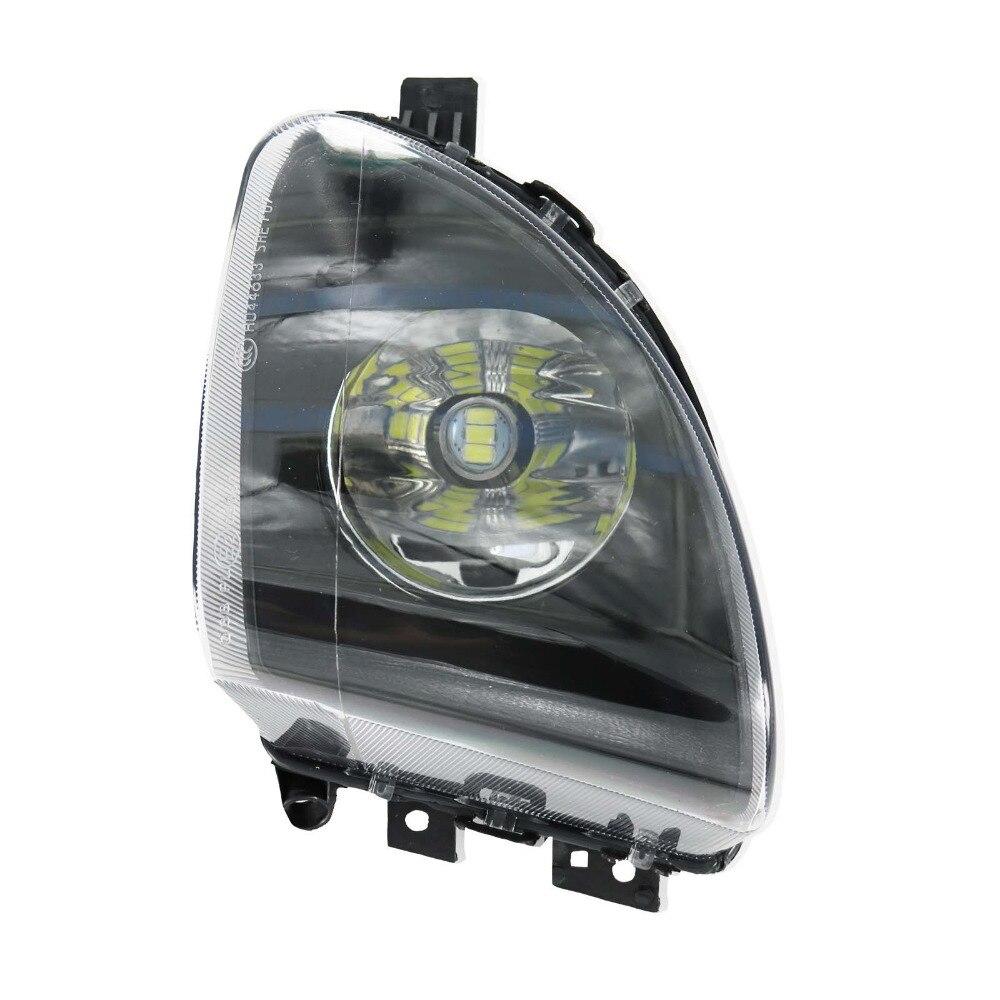 Для БМВ Ф10 Ф11 520i 523i 528i левый передние светодиодные Противотуманные фары противотуманная фара 63177216885