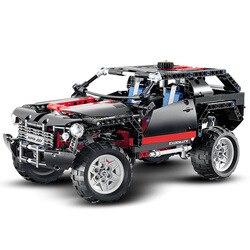 Модель гоночного автомобиля, моторная техника Extreme Cruiser SUV 589, совместима с legoinglys 8081, 2019