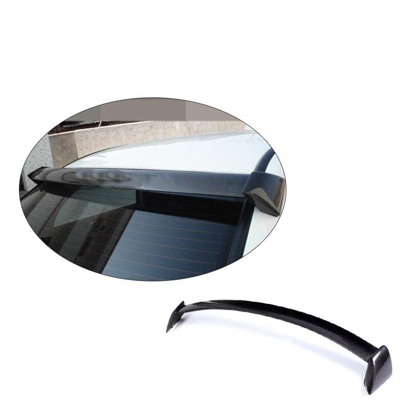 Carbon Fiber Rear Roof Spoiler Window Wing Lip For Subaru Impreza WRX STI 7 9th 2002 2009 Car Styling