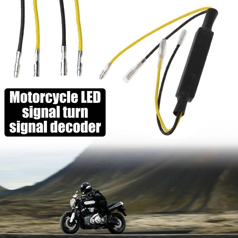 Vehemo одно сопротивление 1 шт. мотоцикл декодер сигнал поворота декодеры Аксессуары Универсальный светодиодный нагрузочный резистор мотоцикл