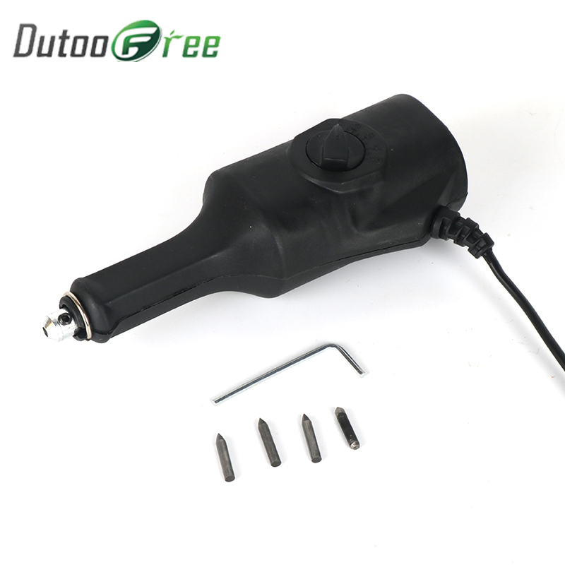 Dutoofree Variable Speed Electric Engraver Engraving Carving Pen Plotter Machine Chisel Tips On Metal Wood Plastic Ceramics