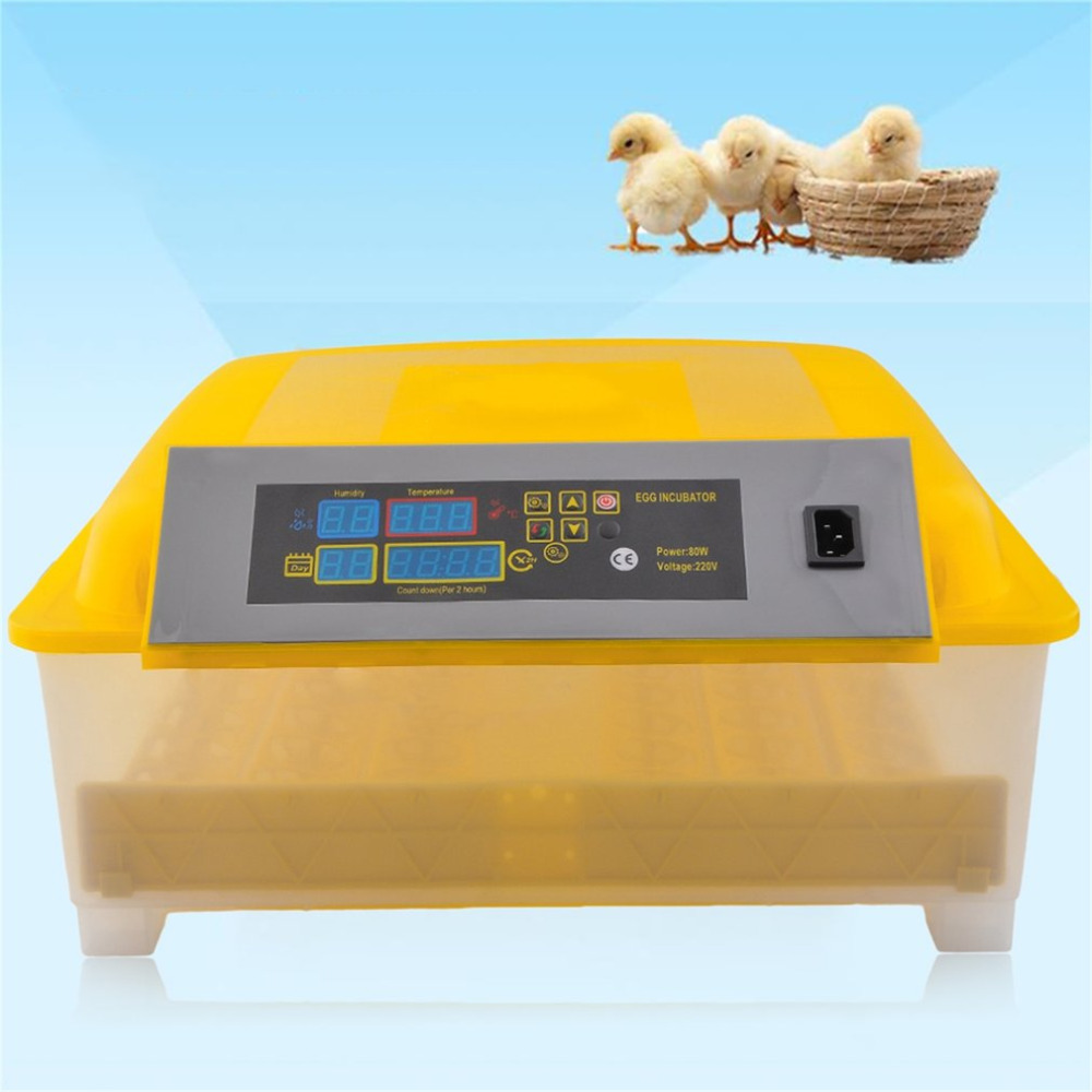 Automatic Eggs Incubator 48 Egg Chicken Duck Egg Hatching Machine Farm Hatchery Machine Incubation Equipment Free Shipping