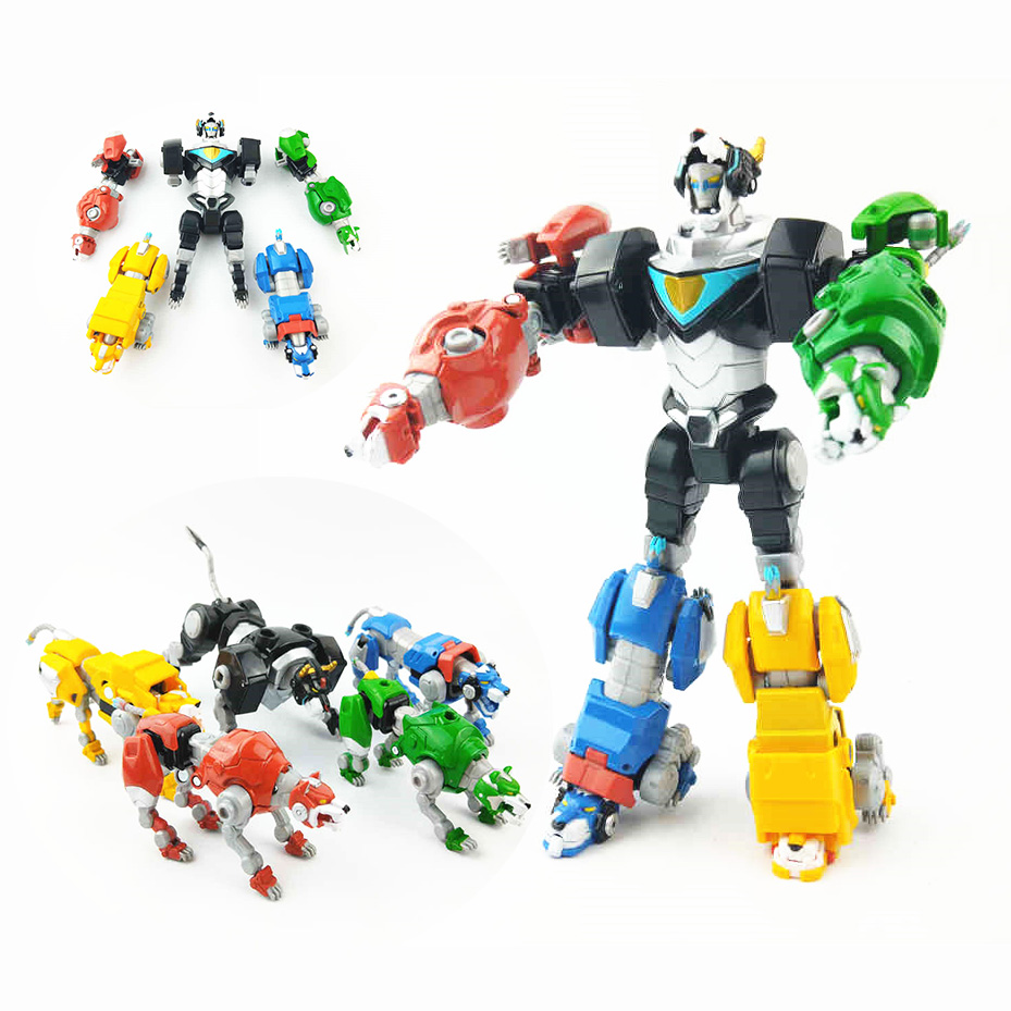 Transformation Robot 5 IN 1 Voltron Super Alloy Soul Beast King Lions Metal Action Figure Toy Gift For Boy