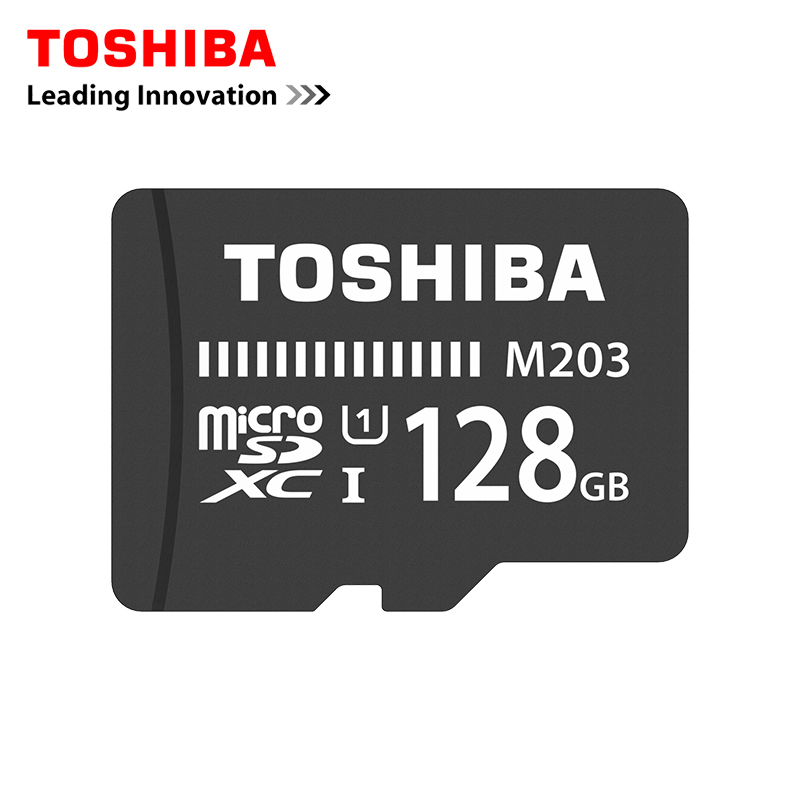 цена на Toshiba Memory Card 128GB 64GB 32GB 16GB micro sd card Class10 UHS-1 Flash card Memory Microsd for Smartphone/Tablet 8GB Class 4