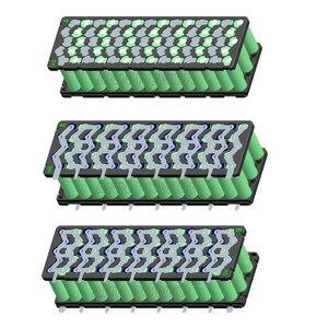Image 4 - 18650 support de batterie au lithium 5P13S 5P14S W type support de batterie et bande de nickel pur pour 13S 48V ou 14S 51.8V batterie e bike