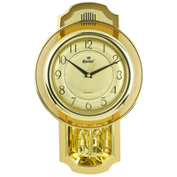 Star pocket watch fashion clock gold quartz clock musical alarm clock wall clock