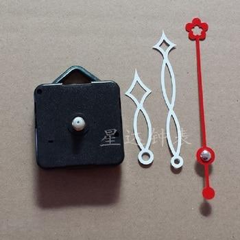 Wholesale 30pcs creative personality mute electronic quartz  movement pointer Accessories wall clock mechanism