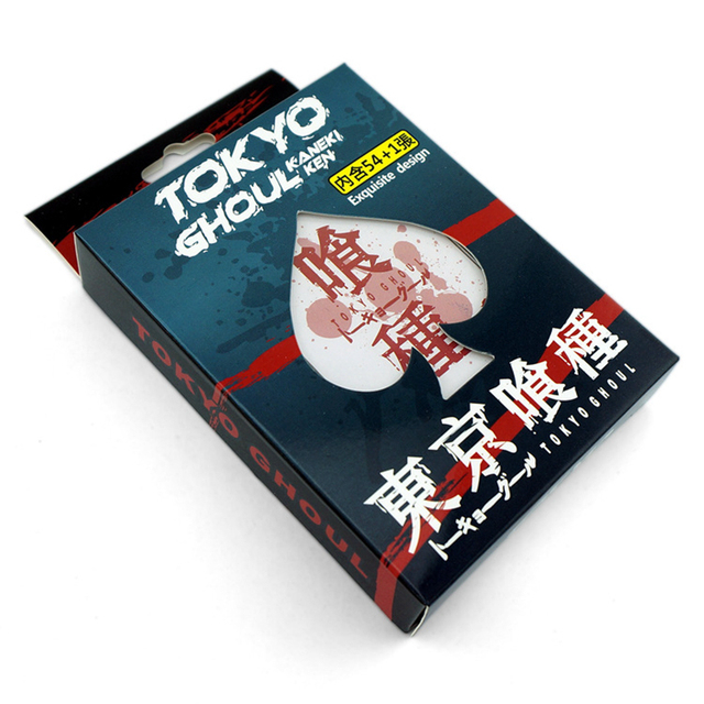 Tokyo Ghoul Attack On Titan One Piece Naruto Playing Cards