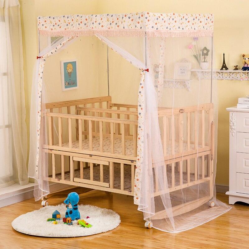 Ongebruikt Multifunctionele Grenen Tweeling Baby Bedjes Geen geschilderd PV-87