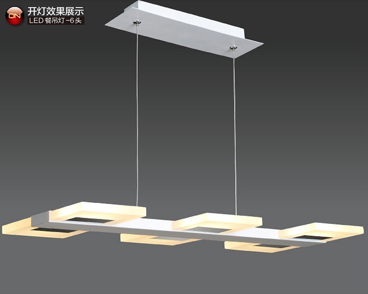 Office Pendant Lighting Garage Light Fixture Adjustable Hanging - Led pendant lights for kitchen island