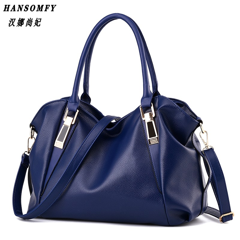 100% Genuine leather Women handbag 2018 New Classic casual fashion female Cross hand bag of bill of lading messenger bag qiaobao 2018 new korean version of the first layer of women s leather packet messenger bag female shoulder diagonal cross bag