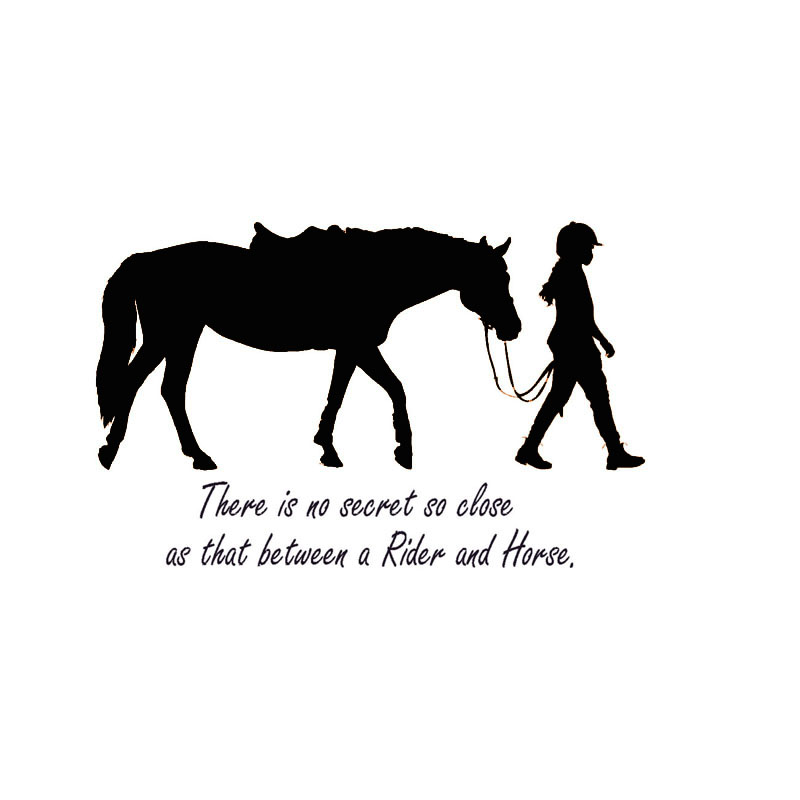There Is No Secret So Close Girl And Horse Wall Stickers Iphone Wallpapers Free Beautiful  HD Wallpapers, Images Over 1000+ [getprihce.gq]