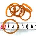 Диаметр 30 мм ширина 4 мм высокоэластичный растягивающийся канцелярский держатель натуральный резиновый ремешок