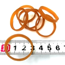 diameter 30mm width 4MM High elastic stretch stationery holder nature rubber band