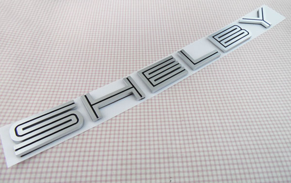 Auto Black silver SHELBY GT500 for 07-09 MUSTANG GT500 Cobra Emblem Badge Sticker статуэтки forchino статуэтка shelby cobra 427 s c