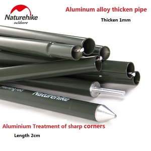 2sets package Naturehike Factory Store Camping Awning Pole Aluminium Alloy Awning Rod Tent Poles(China)