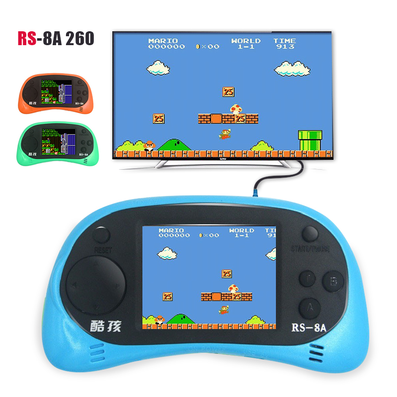 Kids Toys Video Game Console 2.5 inch LCD Handheld Game ...