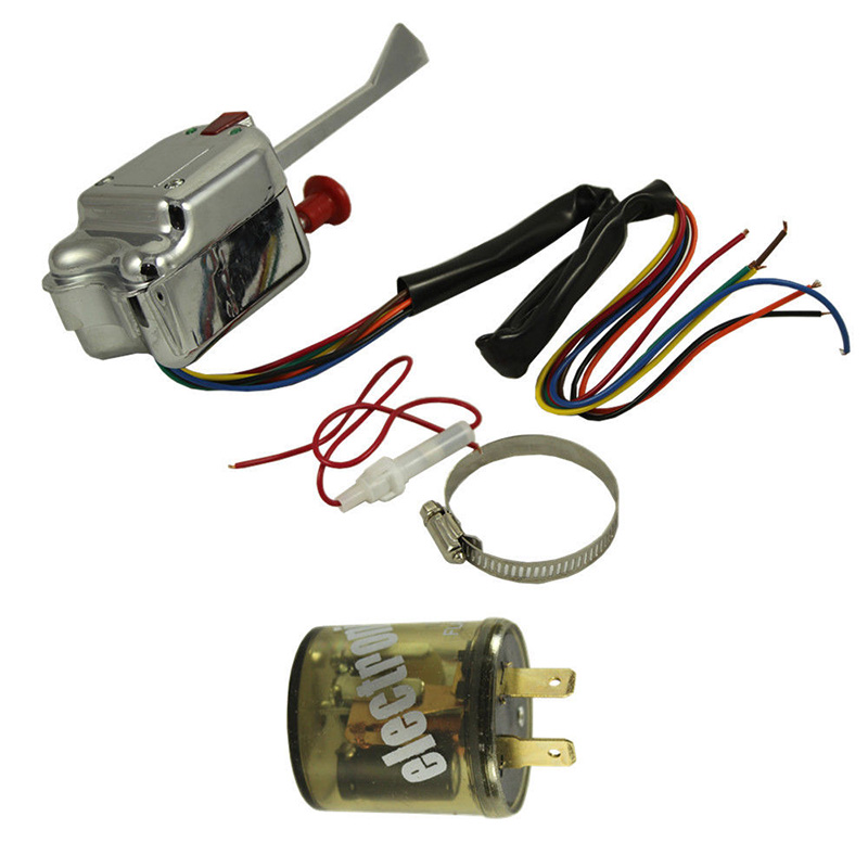 popular hot diagram buy cheap hot diagram lots from hot 2017 universal street hot rod turn signal chrome 12v switch 7 wires and a wiring