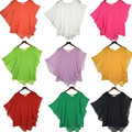 plus size S - 4XL 5XL 6XL Summer Women Chiffon Blouses Bat Sleeve chiffon shirts blousas shirts,18 color  vestidos casual shirts