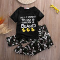 2pcs Baby Infant Boys Outfits T-shirt Tops+Pants Kids camouflage Clothes quot UK