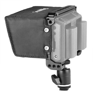 "Image 4 - SmallRig Monitor Cage Kit для Blackmagic Design Video Assist 5 ""монитор с hdmi зажимом Sunhood Ballhead Cold Shoe 1981"