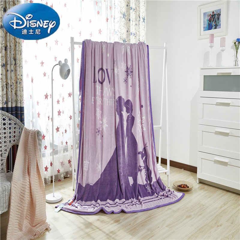 Disney Autentico Congelato Due Strato di Ispessimento Coperta Coperte e Plaid per i bambini sul Divano Letto Divano 200x230 CM Peso 2.7 kg.