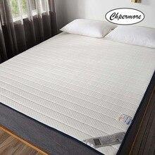 Chpermore colchón de látex Natural de alta calidad plegable de rebote lento colchones de sueño saludable Tatami tamaño King Queen