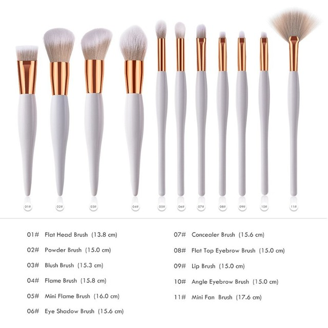 Professional Single Makeup Brushes High Quality Eye Shadow Eyebrow Lip Powder Foundation Make Up Brush Comestic Pencil Brush 1