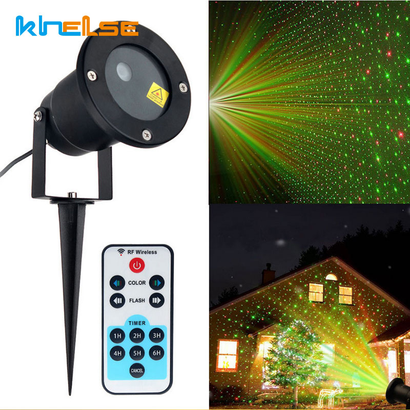 Us 18 68 36 Off Laser Lights Star Projector Remote Christmas Led Garden Static Ip65 Outdoor Party Xmas Landscape Light In
