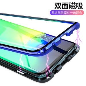 Image 4 - Чехол Conelz для Samsung Galaxy S10 5G S9 S8 Plus S10e Note 9 Note 8 с магнитной застежкой спереди и сзади, защитный чехол для телефона